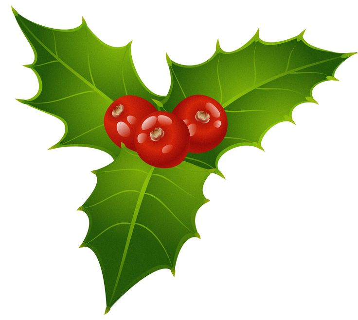 Christmas mistletoe clip art free