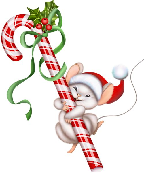 Christmas Mouse Clip Art | Gallery Free -Christmas Mouse Clip Art | Gallery Free Clipart Pictureu2026 Christmas PNG Christmas Candy Caneu2026-4