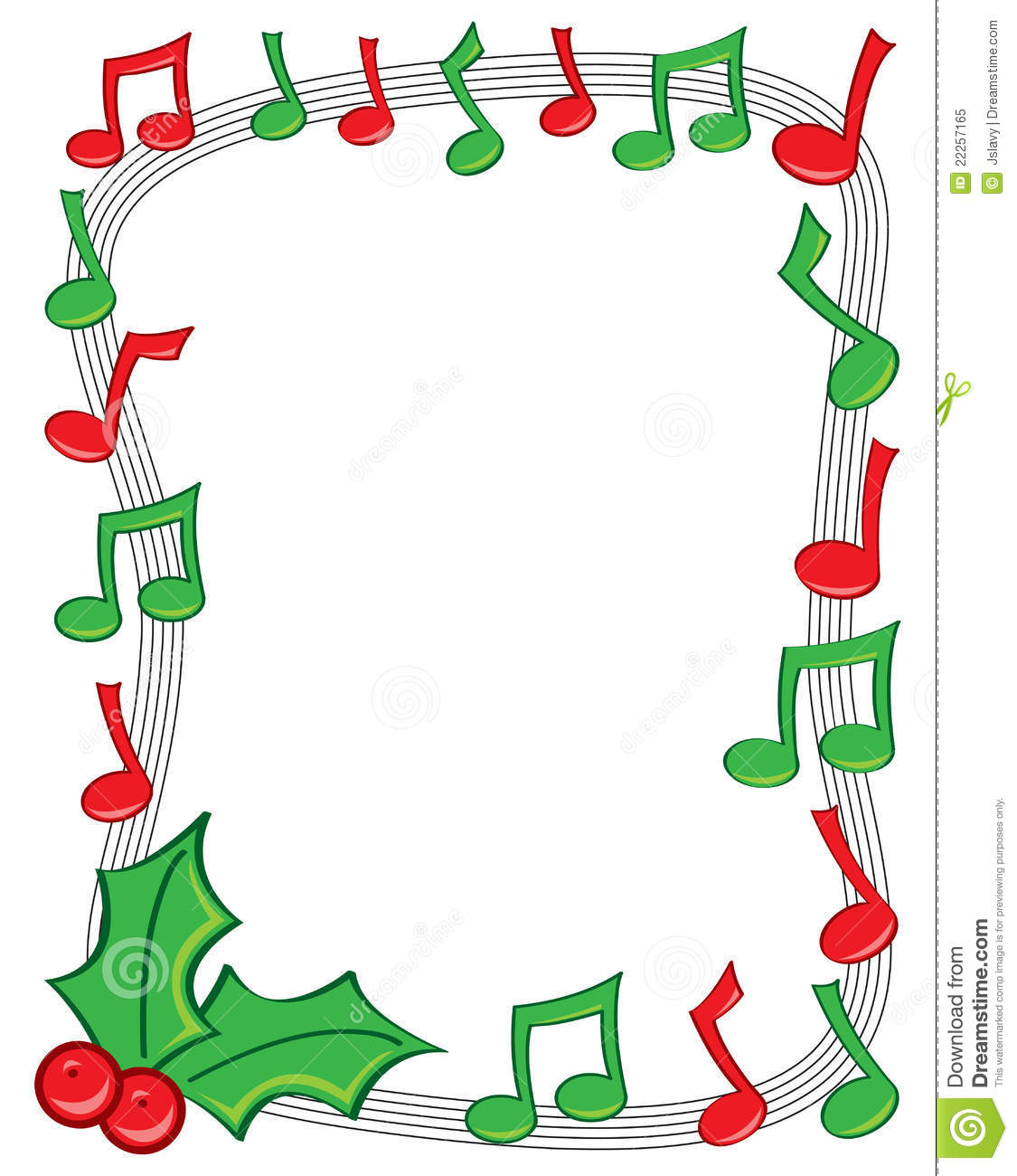 Christmas Music Notes Border Clipart Panda Free Clipart Images