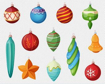 Christmas Ornaments Clipart Christmas Clipart Christmas Tree