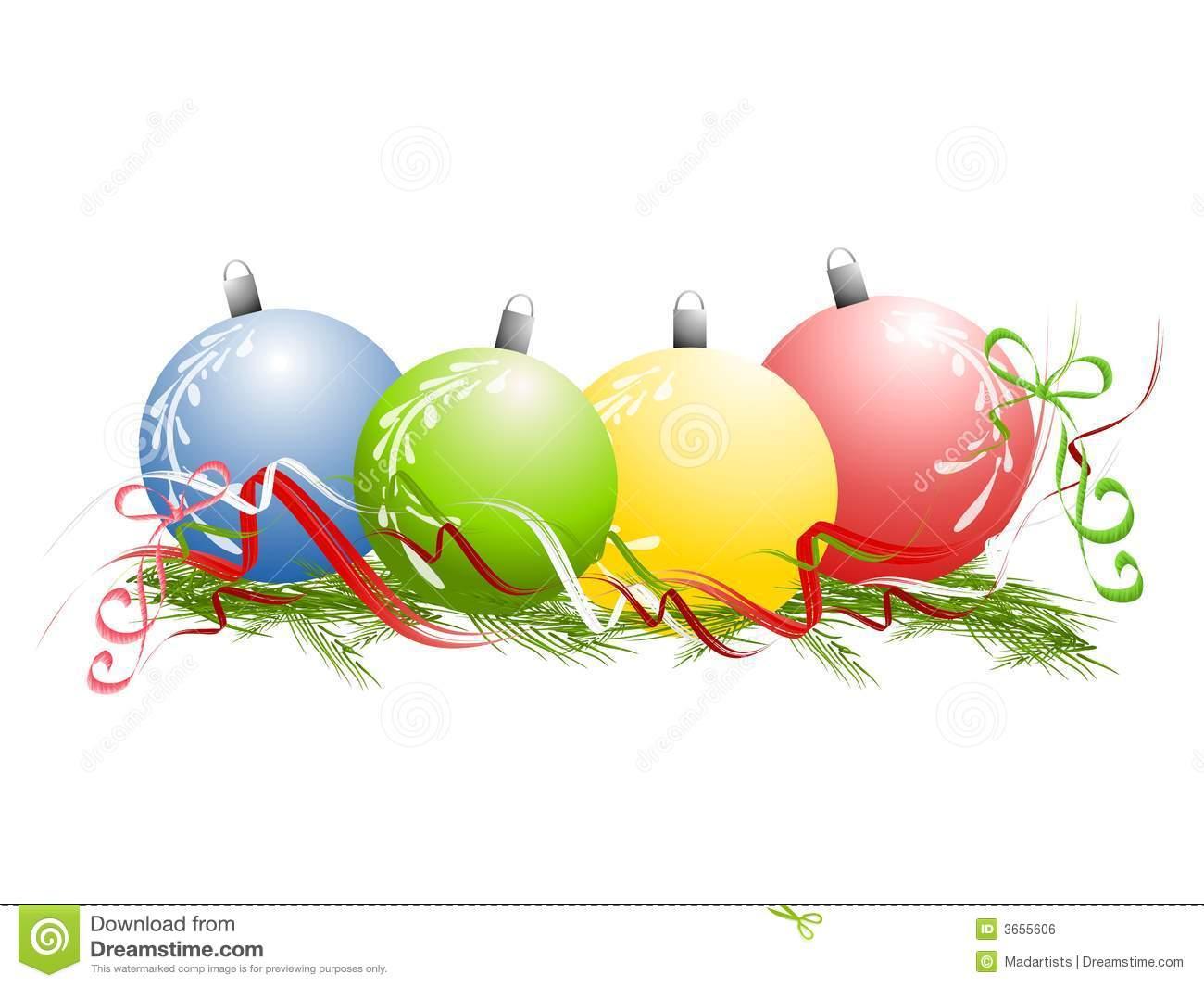 Christmas Ornaments Ribbon .