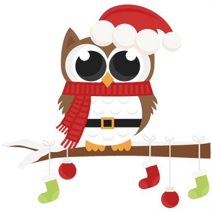 Christmas Owls Clip Art Svg Car Pictures