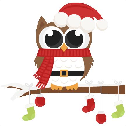 Christmas Owls Clip Art Svg Car Pictures