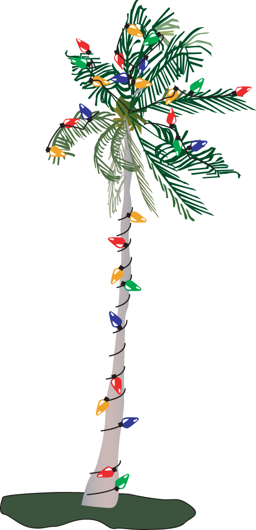 Christmas Palm Free Images At Clker Com Vector Clip Art Online
