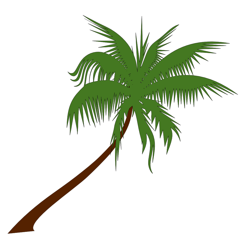 Palm Tree Clip Art Transparen