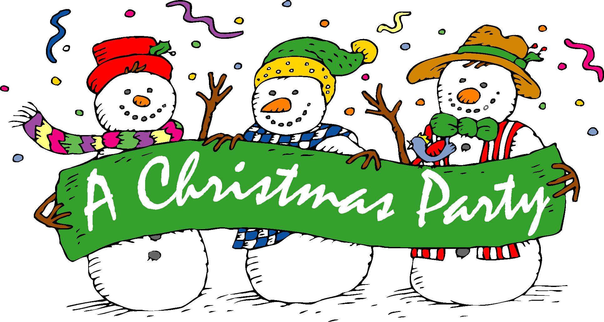 christmas party clip art-christmas party clip art-1