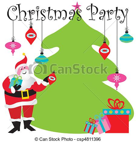 ... Christmas Party Invitation with room for your type