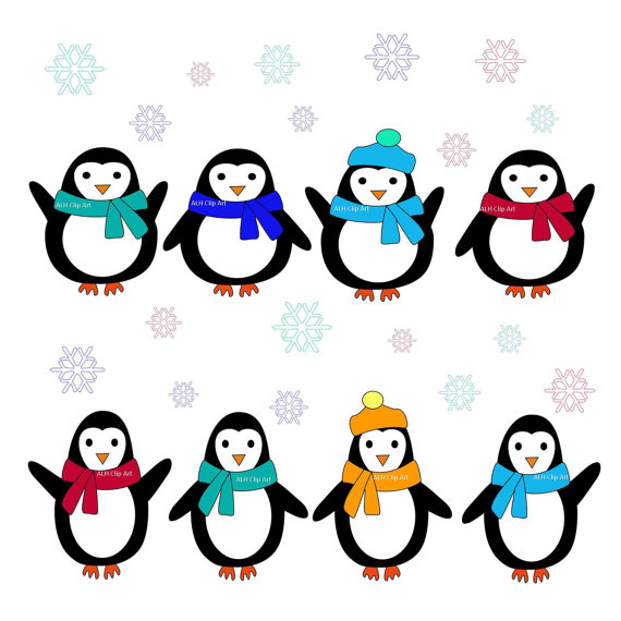 Christmas Penguin Clipart Clipart Panda Free Clipart Images