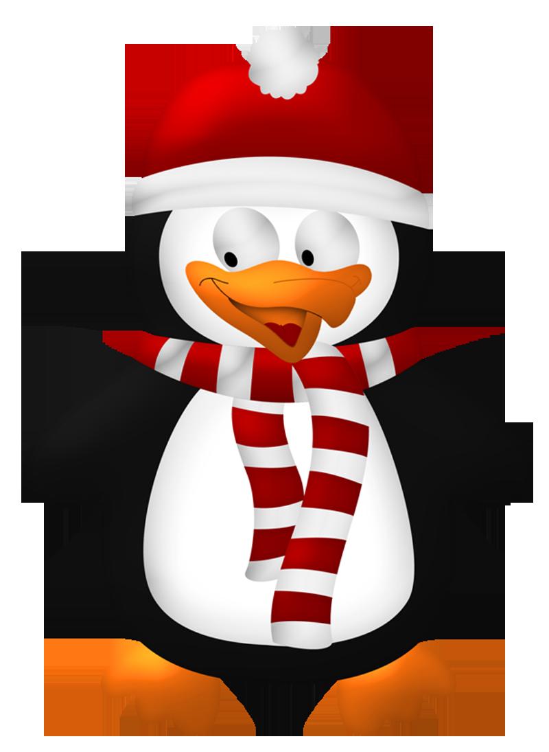 ... Christmas Penguin Clipart - Googlesnipersystem ...
