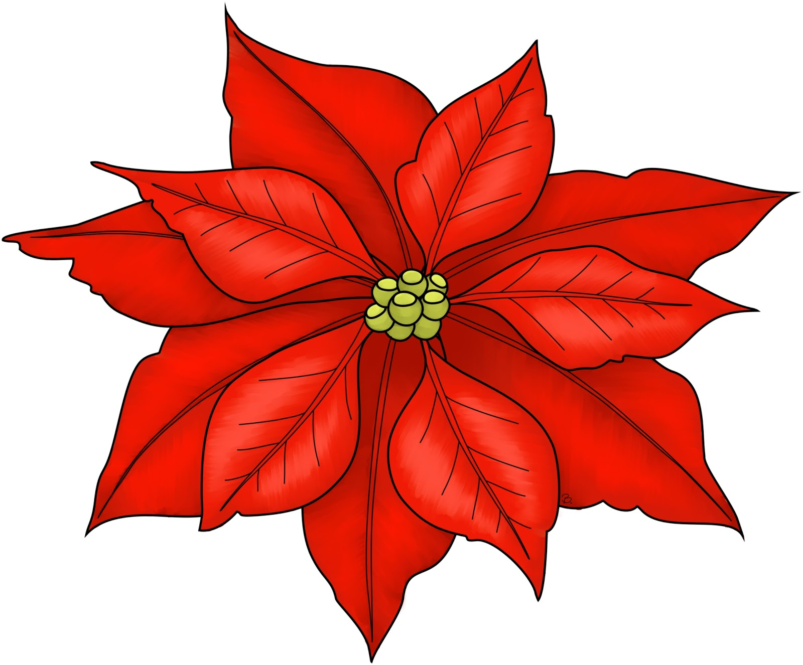 ... Christmas Poinsettia Pictures | Free-... Christmas Poinsettia Pictures | Free Download Clip Art | Free Clip .-2