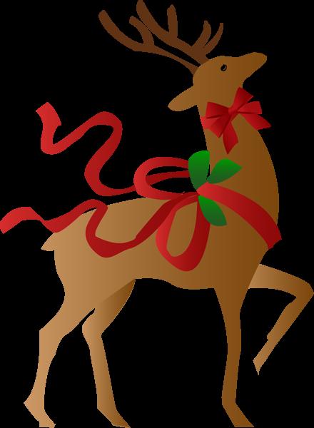 Christmas reindeer clip art clipart photo