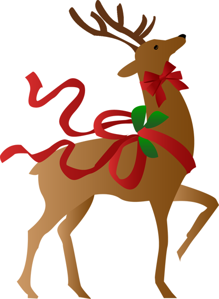 Christmas Reindeer Clipart Clipart Best