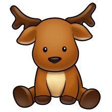 Christmas Reindeer, Cutest Pictures, Log-Christmas Reindeer, Cutest Pictures, Logo, Baby Rudolph, Animal Clipart, Diy Christmas-13