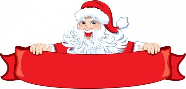 christmas santa claus vector - Santa And Reindeer Clip Art