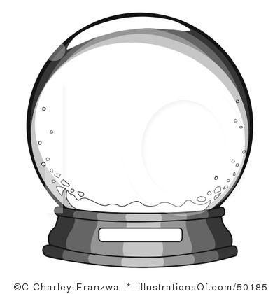 Christmas Snow Globes Clip Art Snow globe clip art