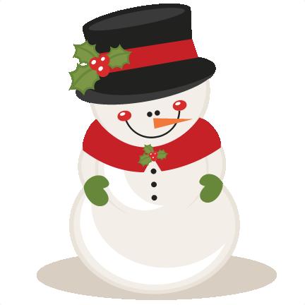 Christmas Snowman scrapbook .