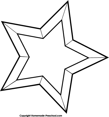 Christmas Star Clip Art Black And White -Christmas Star Clip Art Black And White Clipart Panda Free Clipart-2