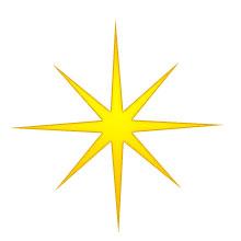 Christmas Star - Eight-point Gold-Christmas Star - eight-point gold-13