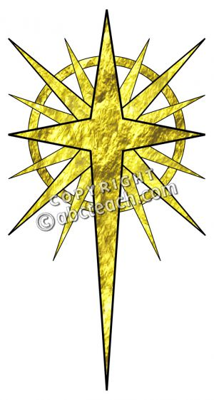 Christmas Star In Gold Clip Art Star Of -Christmas Star In Gold Clip Art Star Of Bethlehem Religious-8