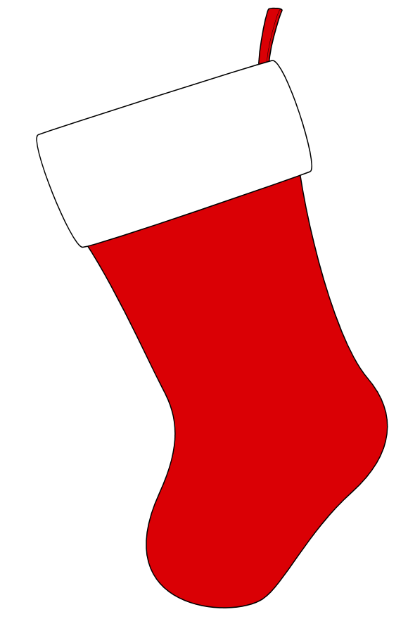 Christmas Stocking Clipart New Calendar Template Site