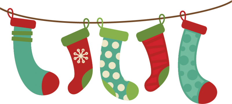 christmas stockings clipart