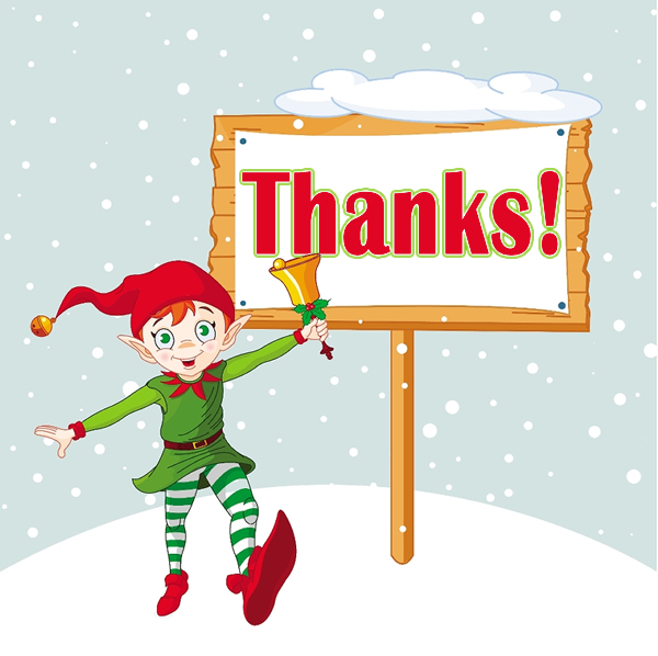 Christmas Thank You Clip Art New Calendar Template Site