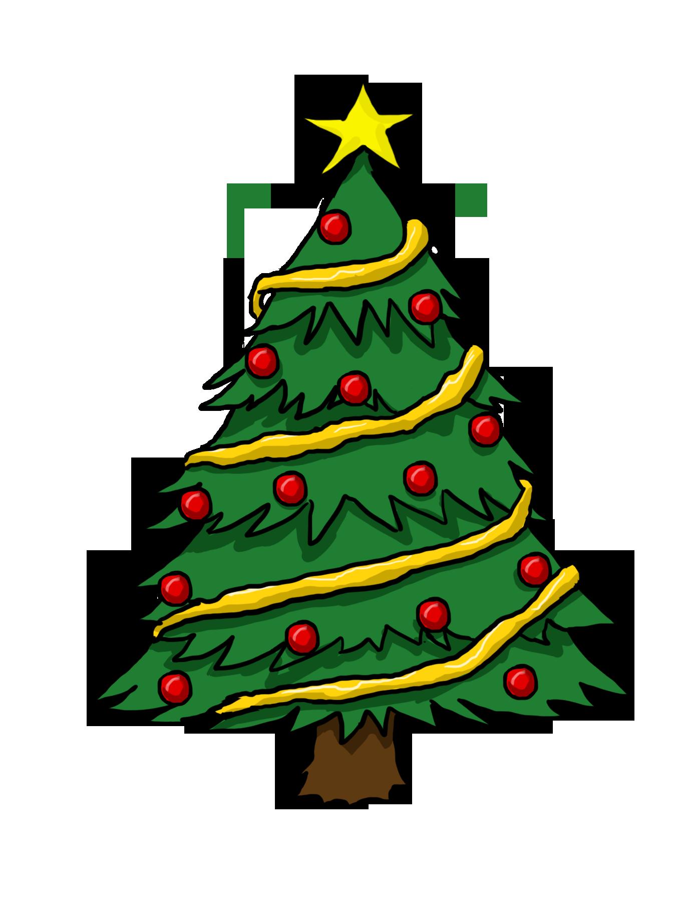 Christmas Tree Clip Art. Christmas Day clipart