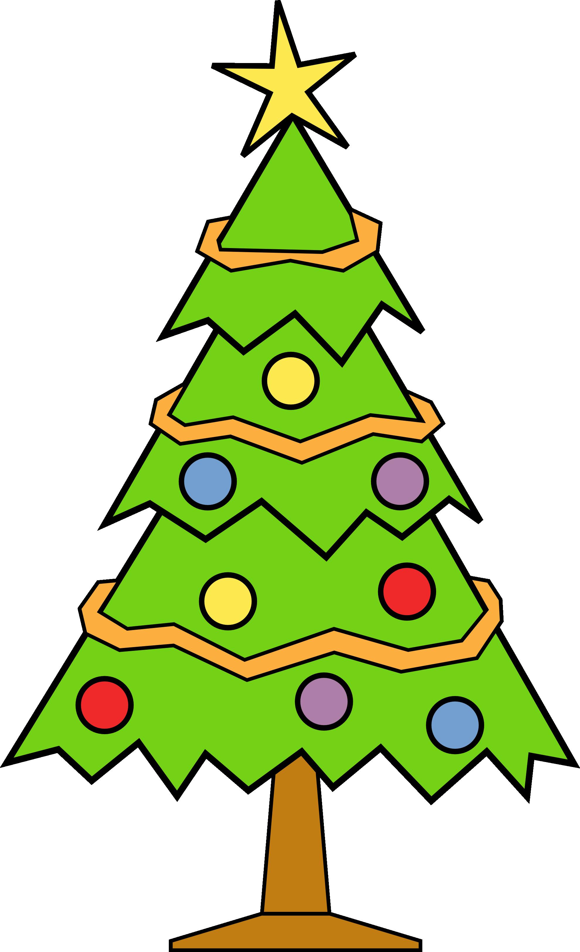 Christmas Tree Clip Art - clipartall