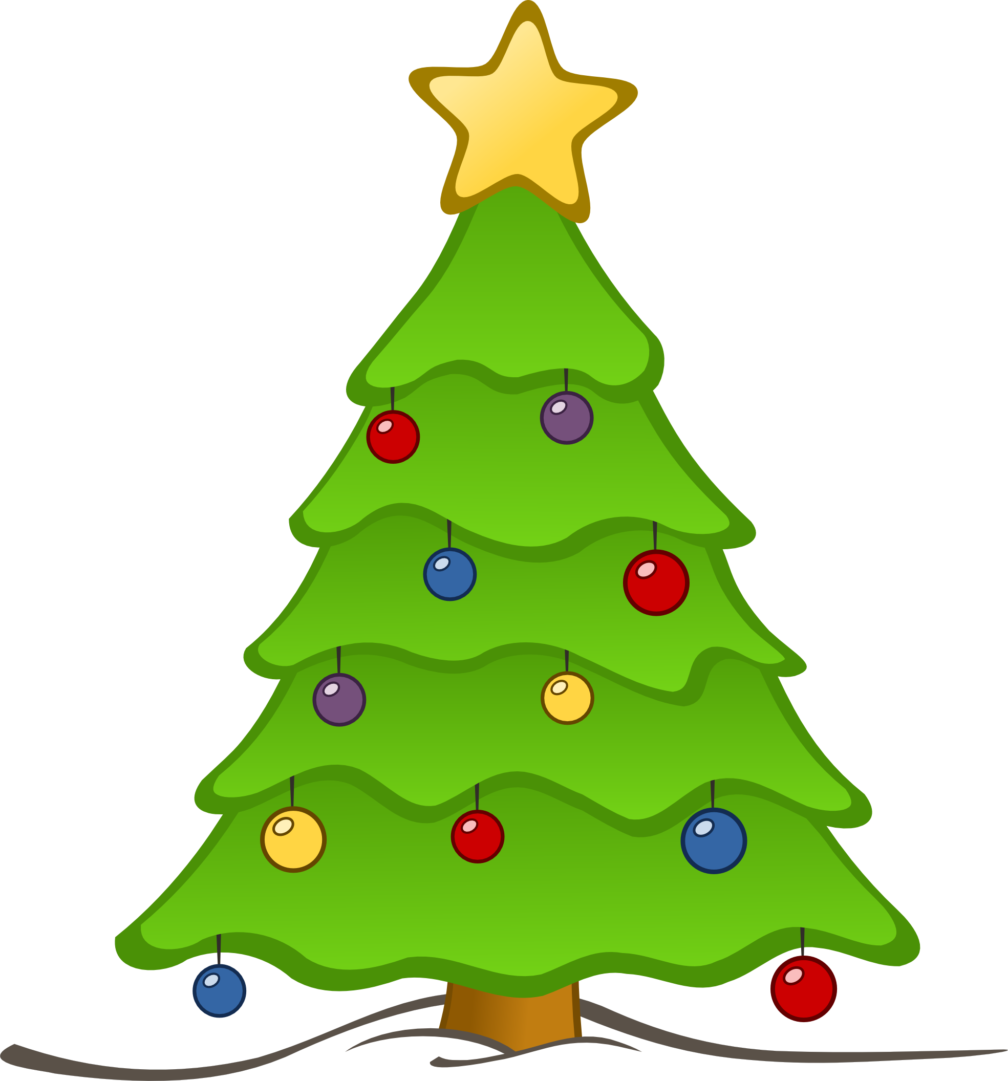 Christmas Tree Clip Art-Christmas Tree Clip Art-5