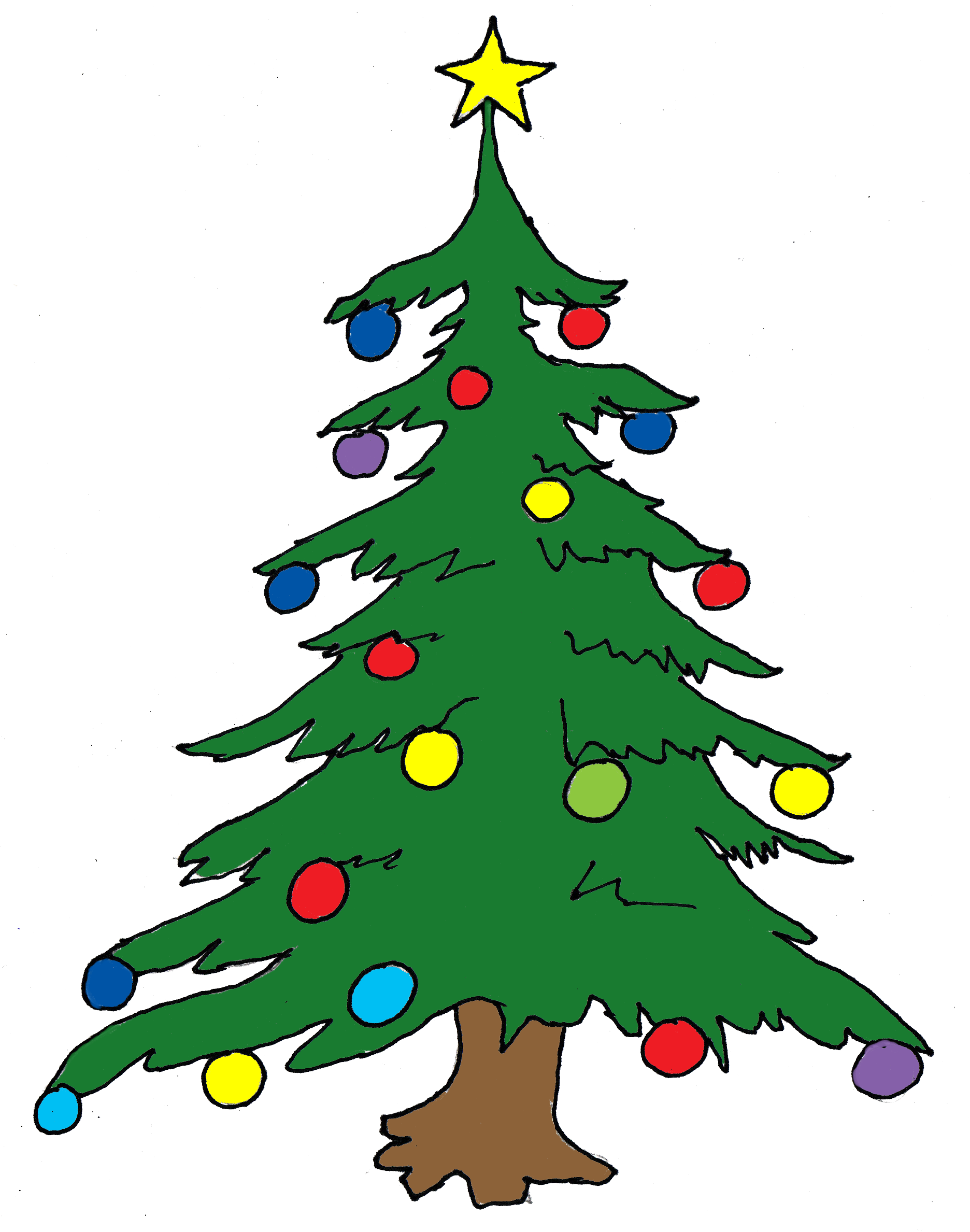 Christmas Tree Clip Art - Free Clip Art Christmas Tree