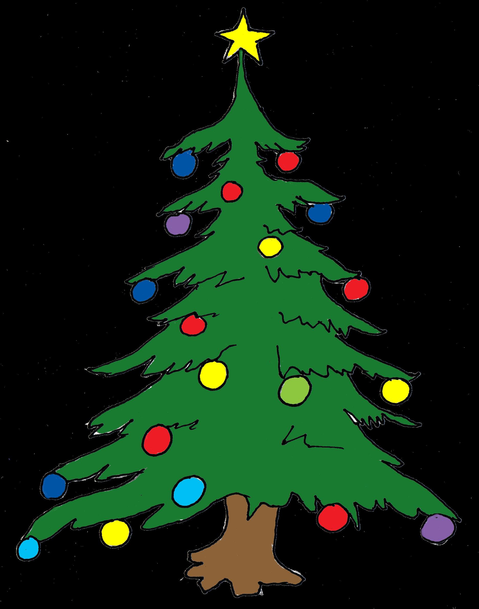 Christmas Tree Clip Art-Christmas Tree Clip Art-4