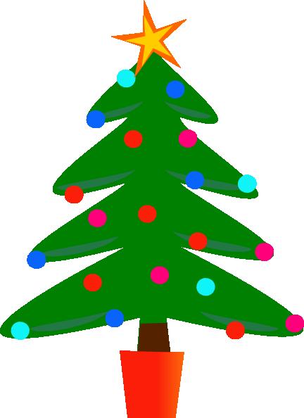 Christmas Tree Clipart-christmas tree clipart-8