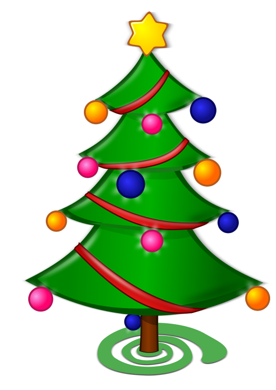 Christmas Tree Clipart For Luminary Clip-Christmas Tree Clipart For Luminary Clipart Panda Free Clipart-8