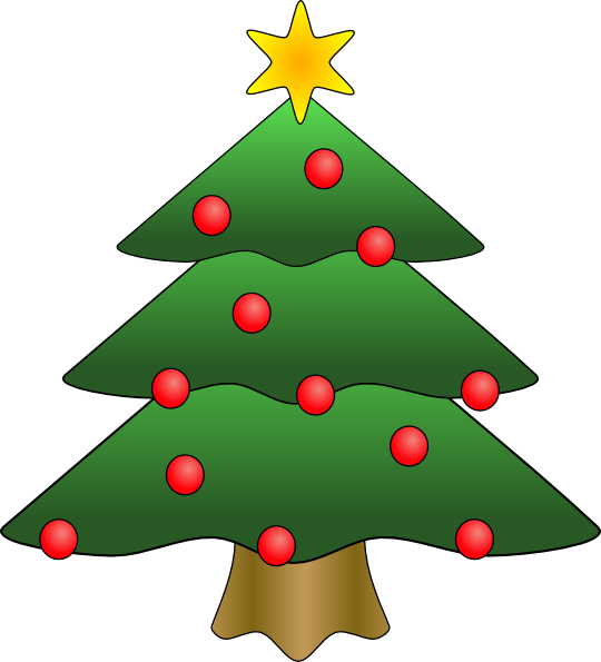 christmas tree clipart u0026middot; free clipart christmas u0026middot; happening clipart