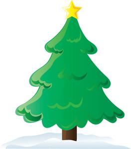 Christmas Tree Free Clipart - .-Christmas tree free clipart - .-8