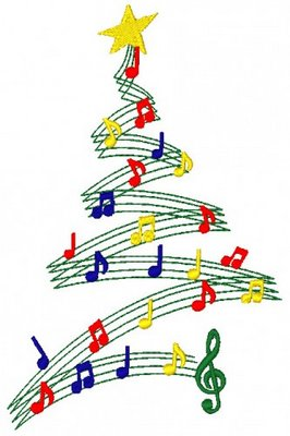 Christmas Music Notes.71 Christmas Music Clip Art Clipartlook