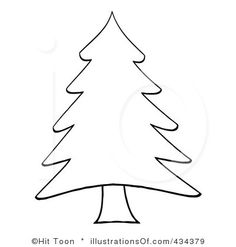 Christmas Tree Clipart Outline.29 Christmas Tree Outline Clip Art Clipartlook