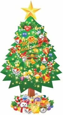 Christmas Tree Vector Illustration-Christmas Tree Vector Illustration-7