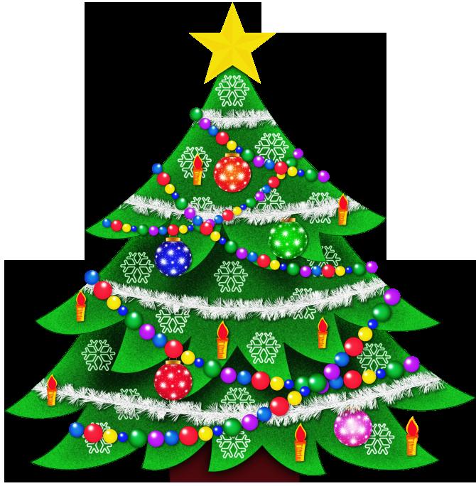 Christmas Trees Clip Art - clipartall