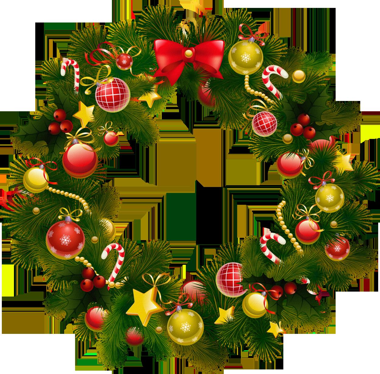 Christmas Wreath Clip Art. 2016/02/18 Ch-Christmas Wreath Clip Art. 2016/02/18 Christmas Wreath u0026middot; Clipartbest Com-6