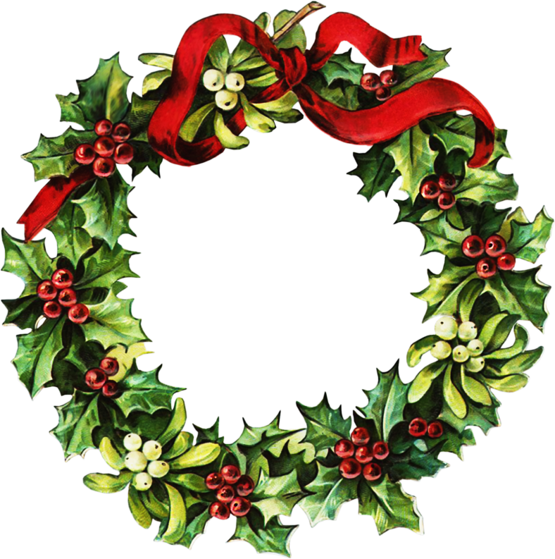 Christmas Wreath Clip Art-Christmas Wreath Clip Art-7