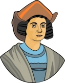 Christopher Columbus Clipart Size: 46 Kb From: Explorers