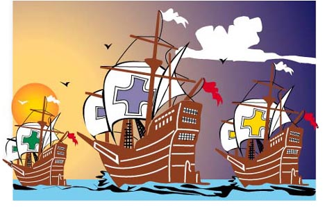 Christopher Columbus Facts An - Christopher Columbus Clip Art