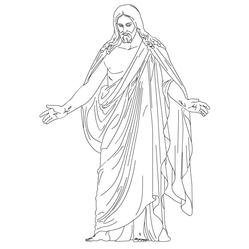 Christus Resurrected Lord And Savior Lds-Christus Resurrected Lord And Savior Lds Clip Art-1