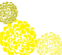 Chrysanthemum Clipart In Yellow-Chrysanthemum Clipart In Yellow-4