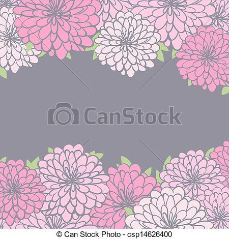 chrysanthemum Clipartby tanais4/911; background with chrysanthemum - vintage floral background.... ...
