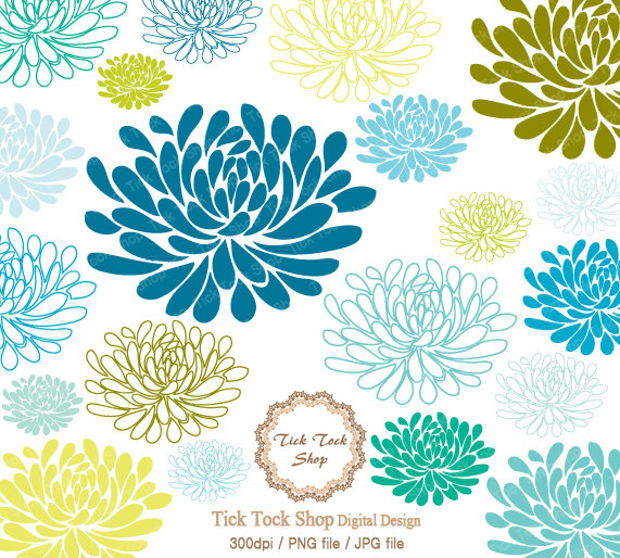 chrysanthemum.  - Chrysanthemum Clip Art