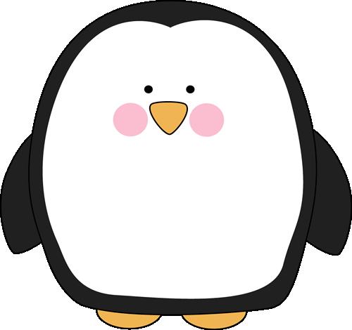 Chubby Penguin - Clip Art Penguin