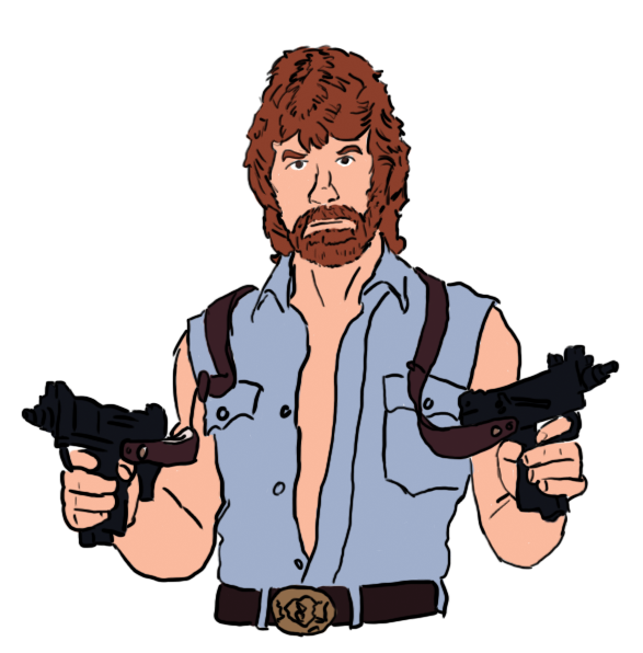 Chuck Norris By Normantweeter ClipartLoo-Chuck Norris by normantweeter ClipartLook.com -5