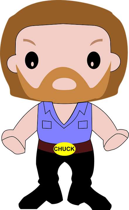 Man Person Chuck Norris Fighter-man person chuck norris fighter-16